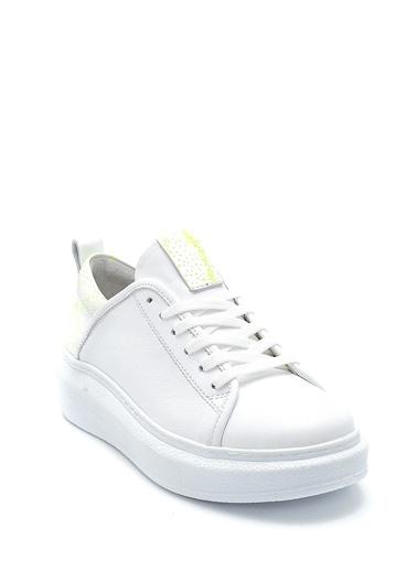 Derimod Kadın Ayakkabı(1129) Casual Beyaz